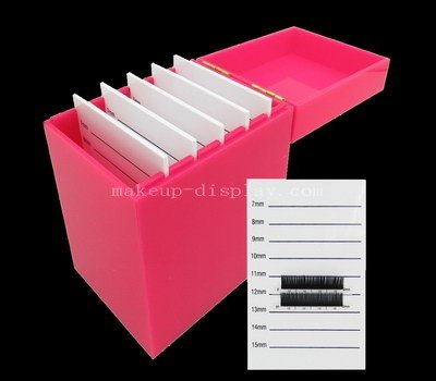 Acrylic eyelash storage box