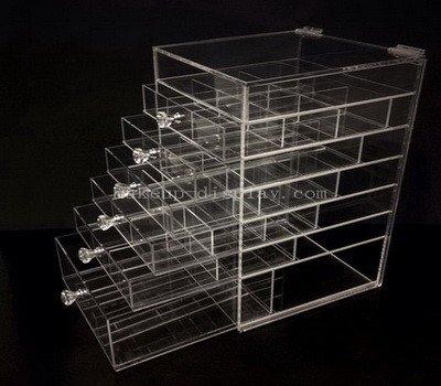 Acrylic makeup drawer organizer