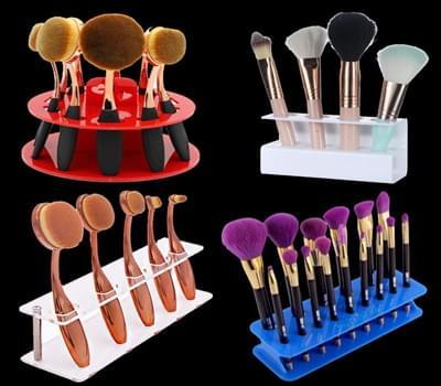 Makeup brush display, Makeup brush stand, Makeup brush holder