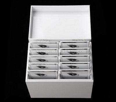 Custom eyelash box wholesale