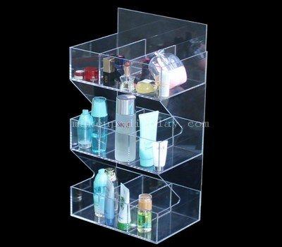 Acrylic makeup rack