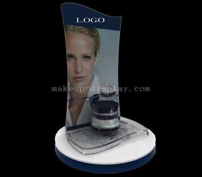 Skincare product display