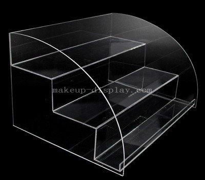Transparent acrylic cosmetic organizer