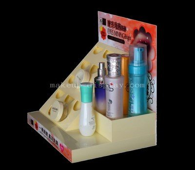 Skincare cosmetic display stands