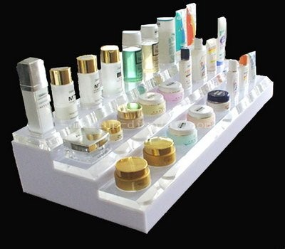 Acrylic counter skincare products display stands