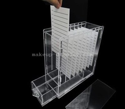 Acrylic eyelash extension storage case