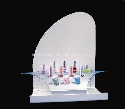 Skincare products display
