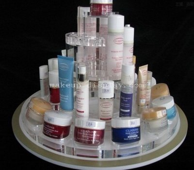 Skincare products display organizer