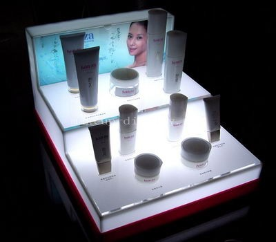 POS display for skincare products