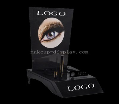 Eyebrow brush display stand