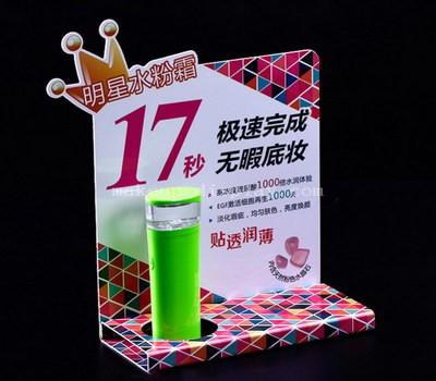 Custom acrylic display stands for makeup
