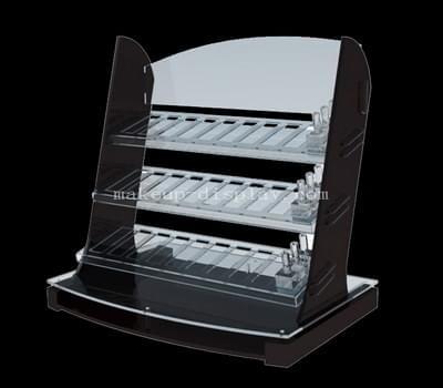 Custom makeup display rack