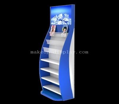 Custom floor standing cosmetic display rack