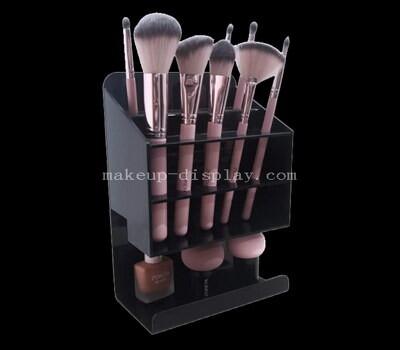 Custom acrylic brush organizer