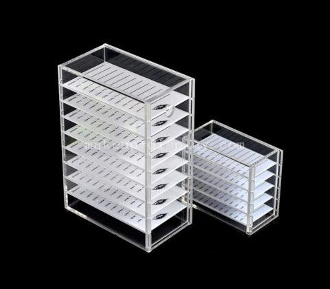 Acrylic lash storage box wholesale